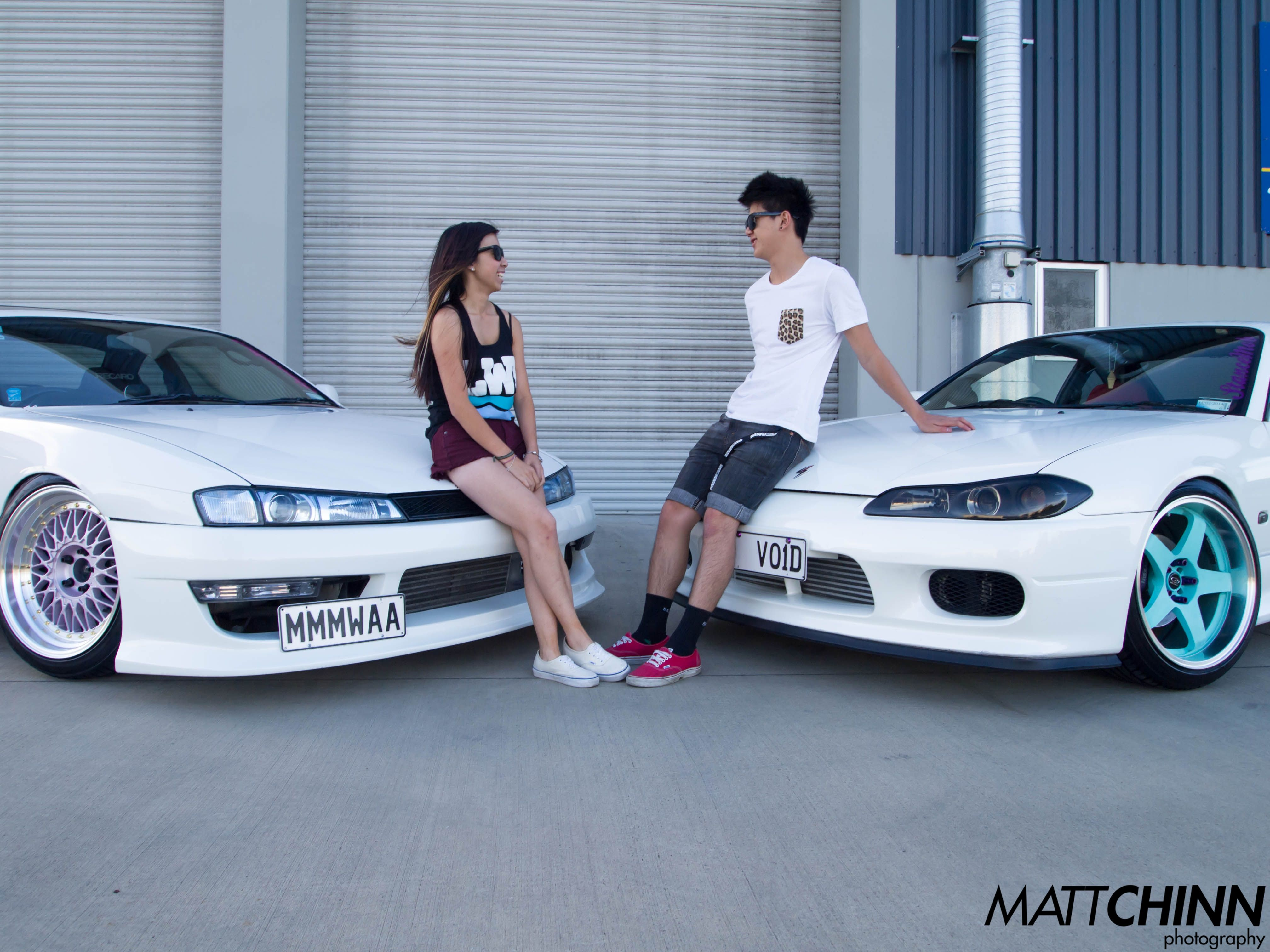A passion is best shared with the one you love. Toyota Silvia.