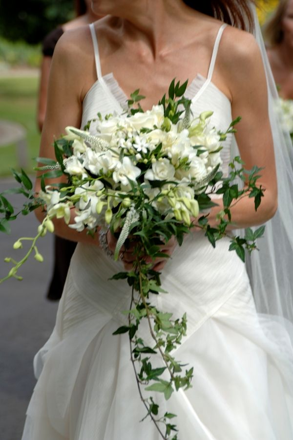 Wedding Bouquets With Lots Of Greenery : Bridal bouquets flower bouvardia veronica ivy and