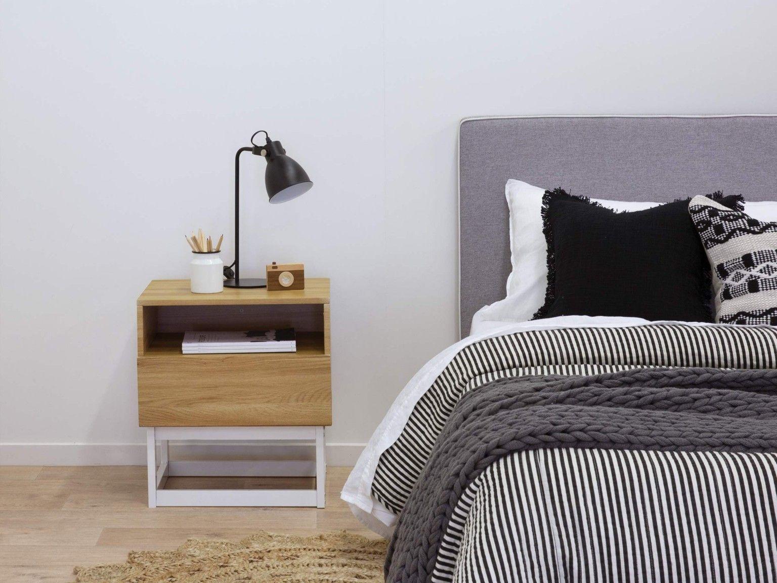 Urban Bedside Table - Bedroom Furniture | Mocka AU in 2020 ...