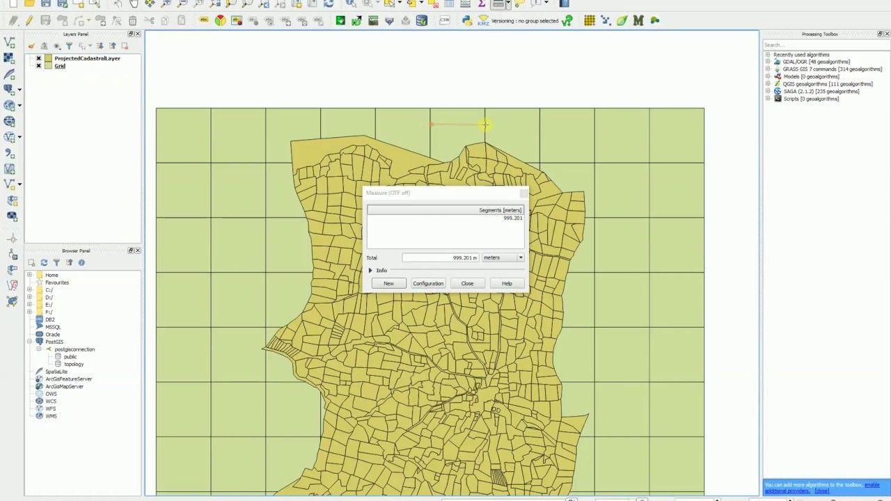 QGIS Vector Grid Create Fishnet | Geospatial / GIS | Fishnet, Grid