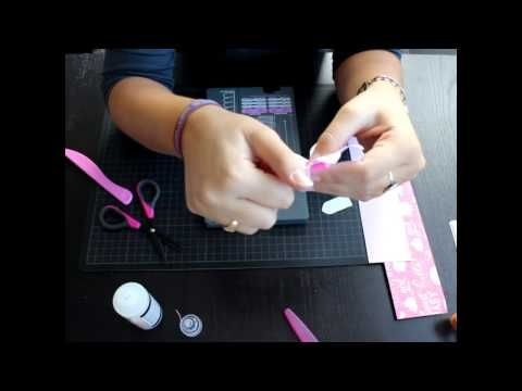 Como usar la Flower Punch Board Parte 1 - Scrapbooking Español - YouTube