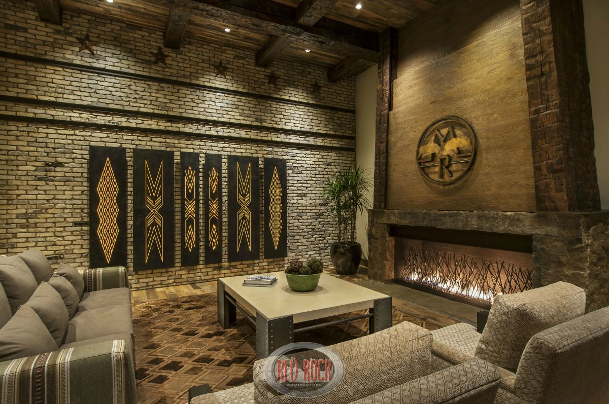 Nice 13 Sweet Concepts Of How To Build Rock Wall Living Room Ideas For You Wall Decor Living Room Rustic Wall Decor Design Interior Design Rustic #rock #wall #in #living #room