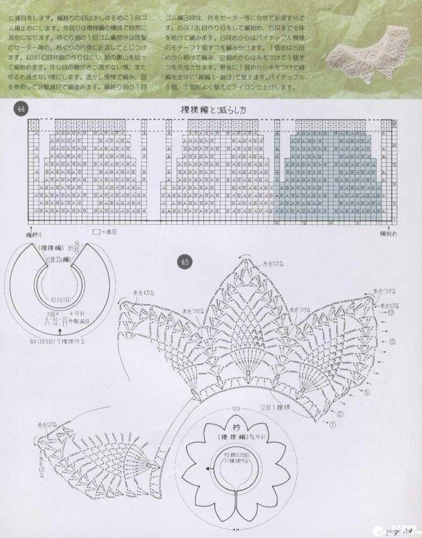 Cuellos Sueltos de Crochet - Patrones Crochet | puntillas ...