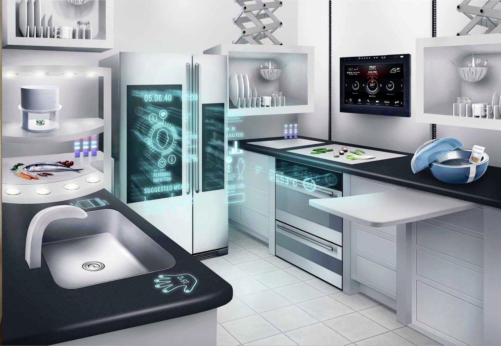 Interior Design Network Connected Appliances For Future Kitchens Future Appliances