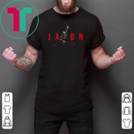 Jason Voorhees Air Jordan Tee Shirt #jasonvoorhees