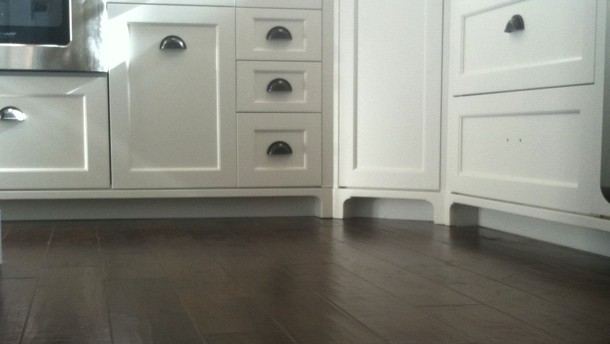 Furniture Style Feet Add Flare to your Kitchen Custom