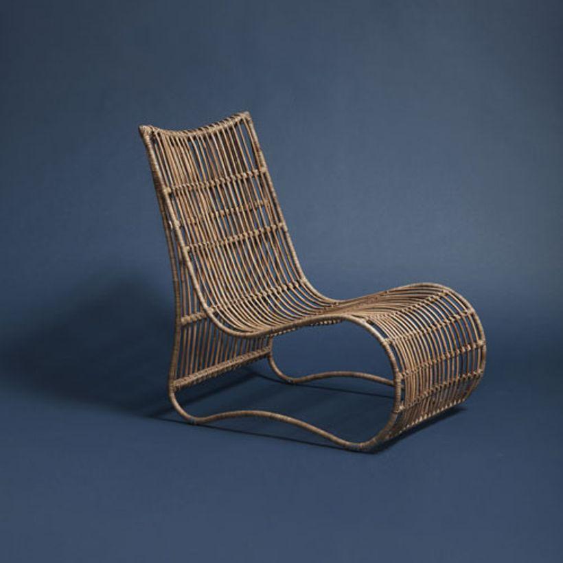 fauteuil bas en rotin naturel h bsch osier rotin etc pinterest fauteuil bas rotin et. Black Bedroom Furniture Sets. Home Design Ideas