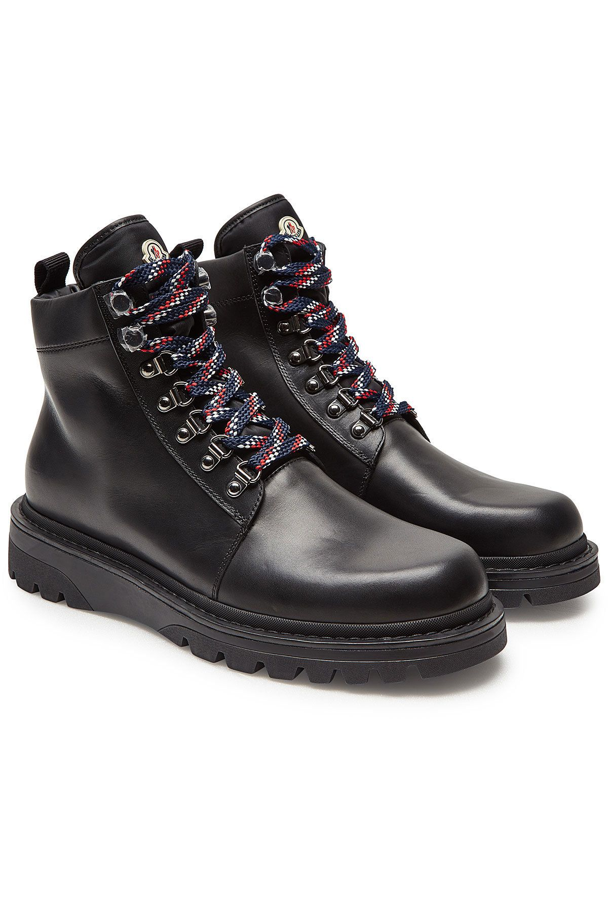 1a3eb0f339f4 MONCLER ISAAC LEATHER ANKLE BOOTS.  moncler  shoes