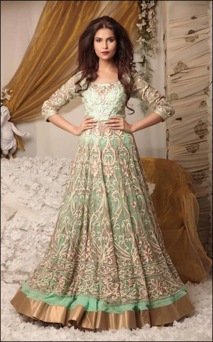 Ethnic Bridal Gowns | Dresses and Gowns Ideas | Pinterest | Bridal ...