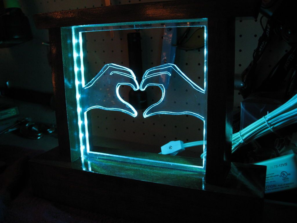 Led lamp with perspex - Google Search | USB LAMP IDEAS | Pinterest for Diy Acrylic Lamp  153tgx