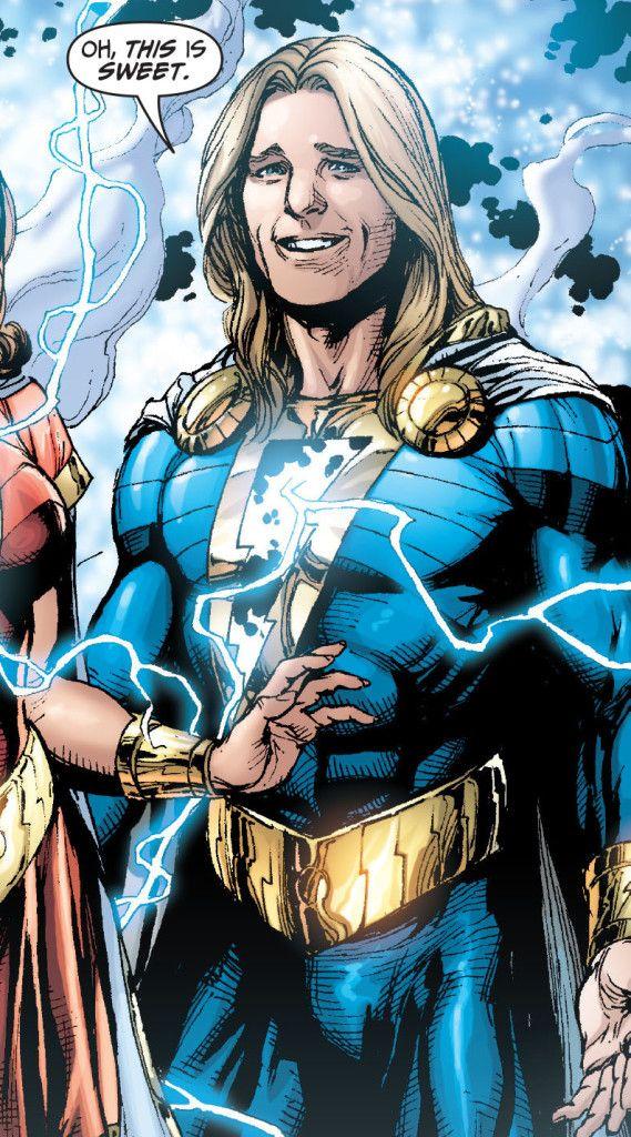 Shazam New  Mary Marvel New  Captain Marvel Jr New
