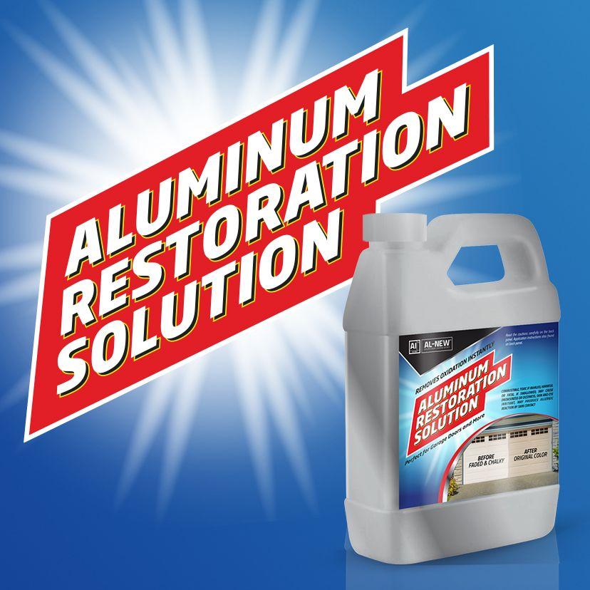 Aluminum Restoration, Best Oxidation Remover, Aluminum