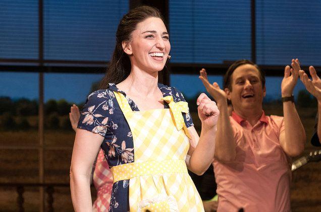 Sara Bareilles Sings Bad Idea In Broadway S Waitress Video Waitress Musical Sara Bareilles Sara Bareilles Waitress