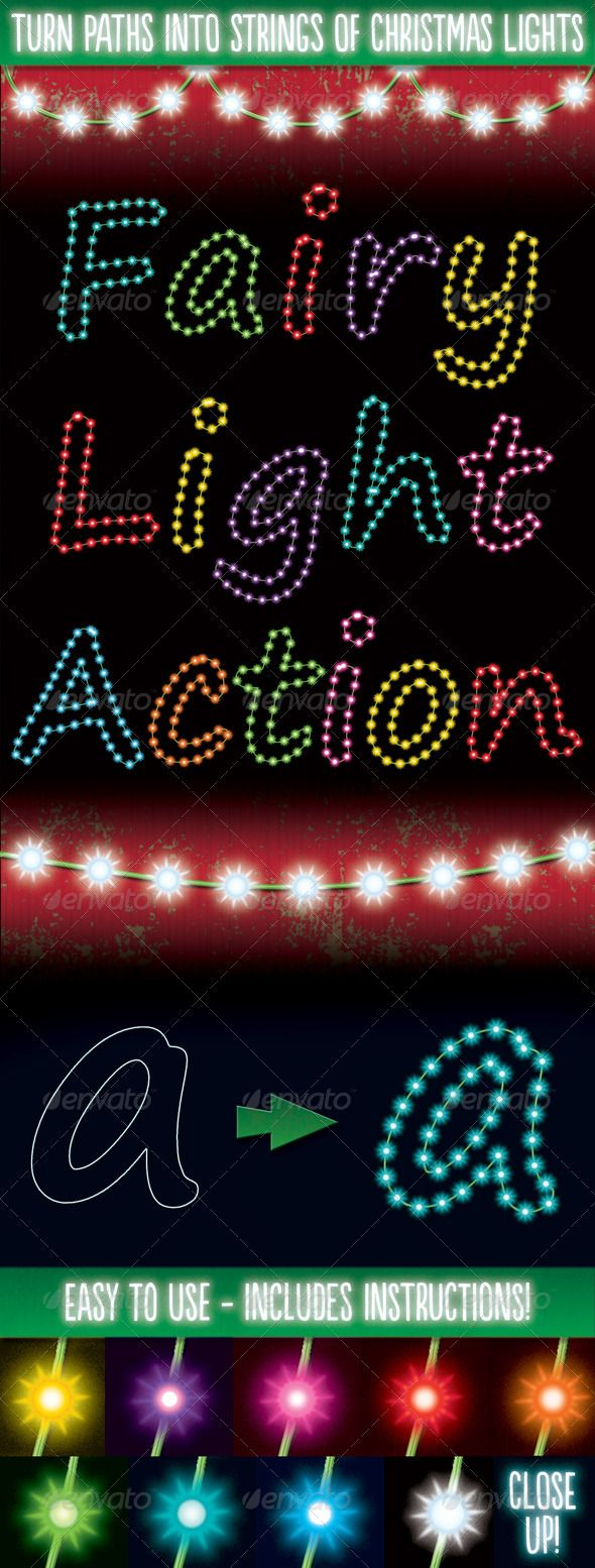 Christmas Light Generator Actions GraphicRiver This