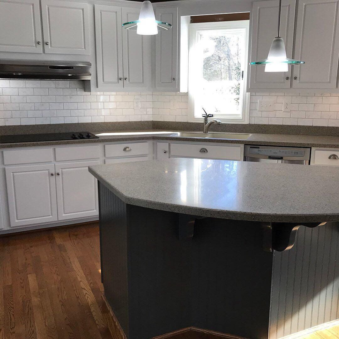 Did You Know It Is Possible To Refinish Formica Solid Surface Back To It S Origi Chicken And Shrimp Recipes White Kitchen Countertops Chicken And Shrimp Pasta