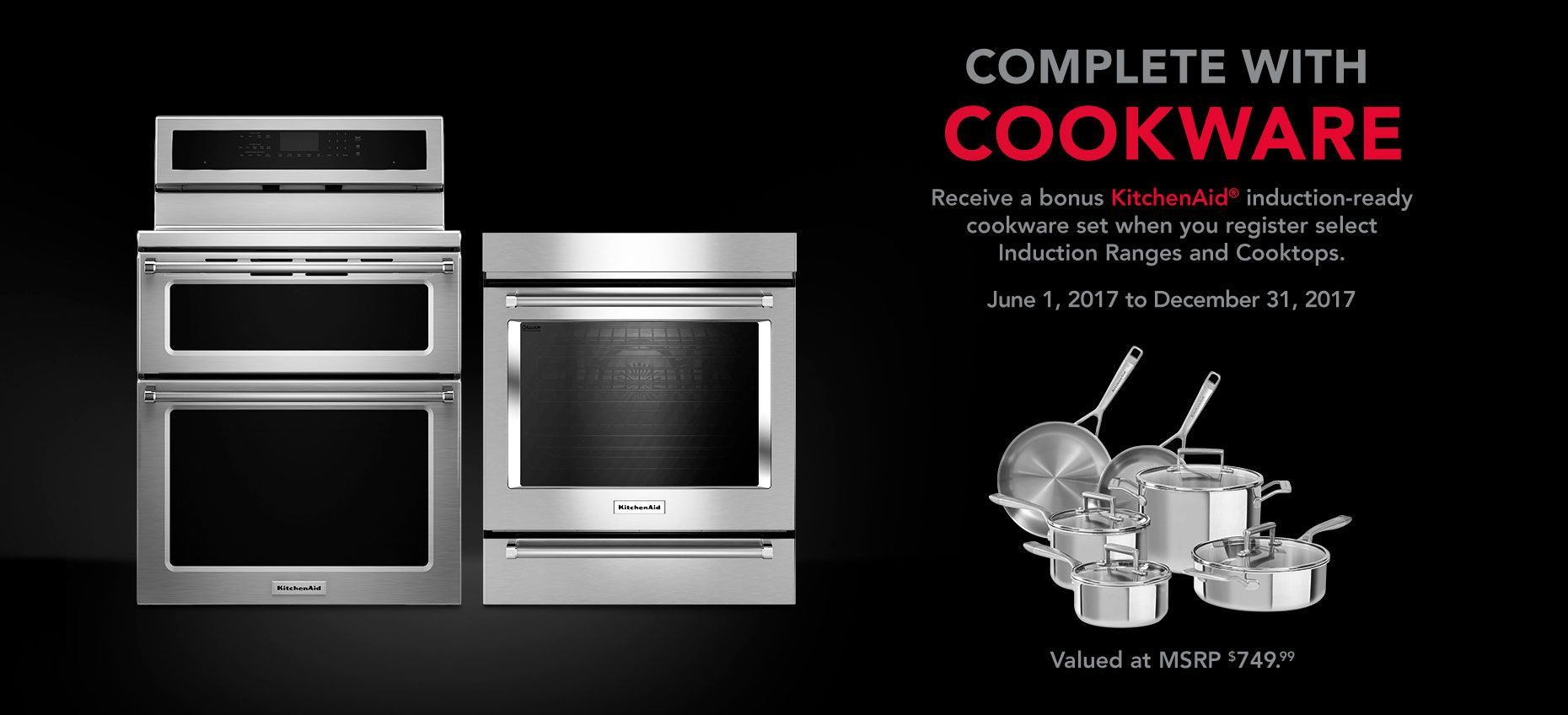Kitchenaid june promo kitchen aid induction cookware