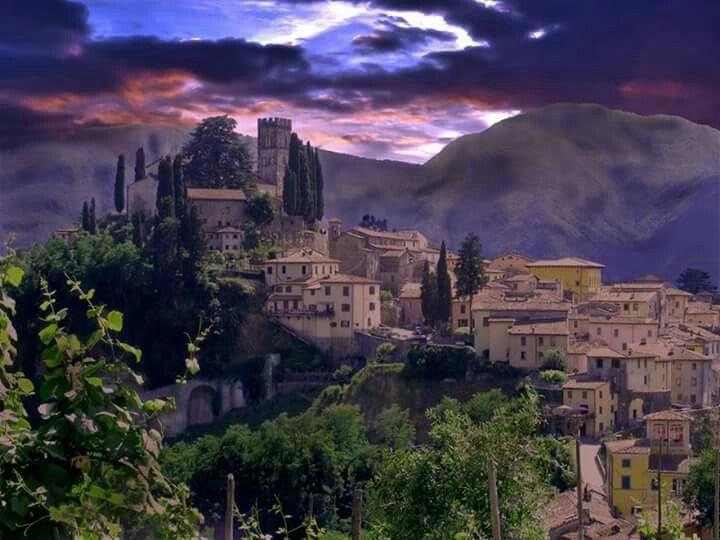 Barga, Italy Travel photo wall, Toscana italy, Italy travel