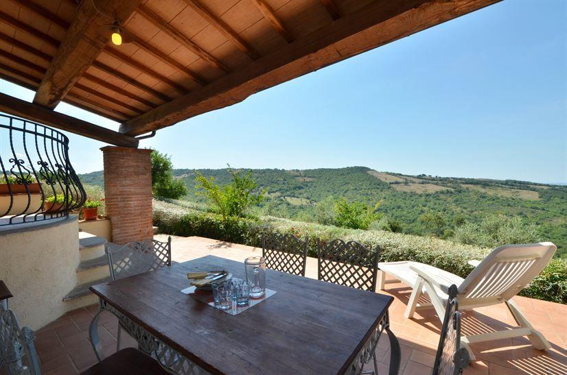 Ferienhaus in der Toskana für 4 bis 6 Personen mit Pool
