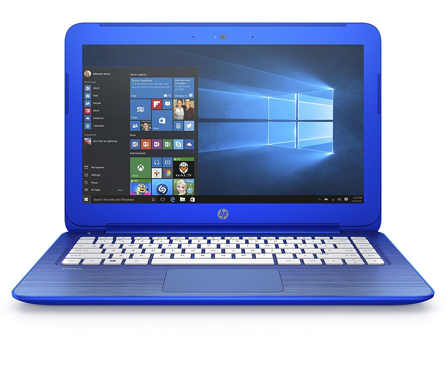 Hp Stream 13 C101ns Portátil De 3 Hd Intel Celeron N2840 2 Gb Ram Disco 32 Emmc 1 Tb One Drive Office 365 Personal Windows 10 X64