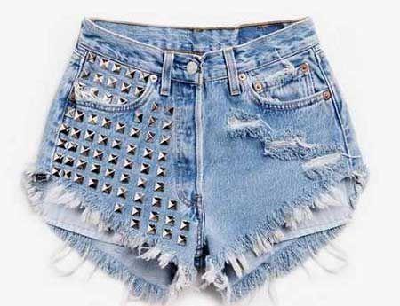 Como Usar Short Jeans Cintura Alta  Fotos a9c7fab8e26