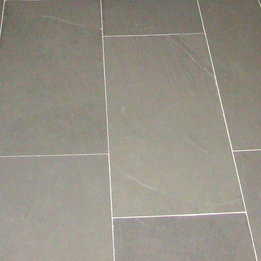 Dalles Carrelage en pierre Ardoise grise 60x30
