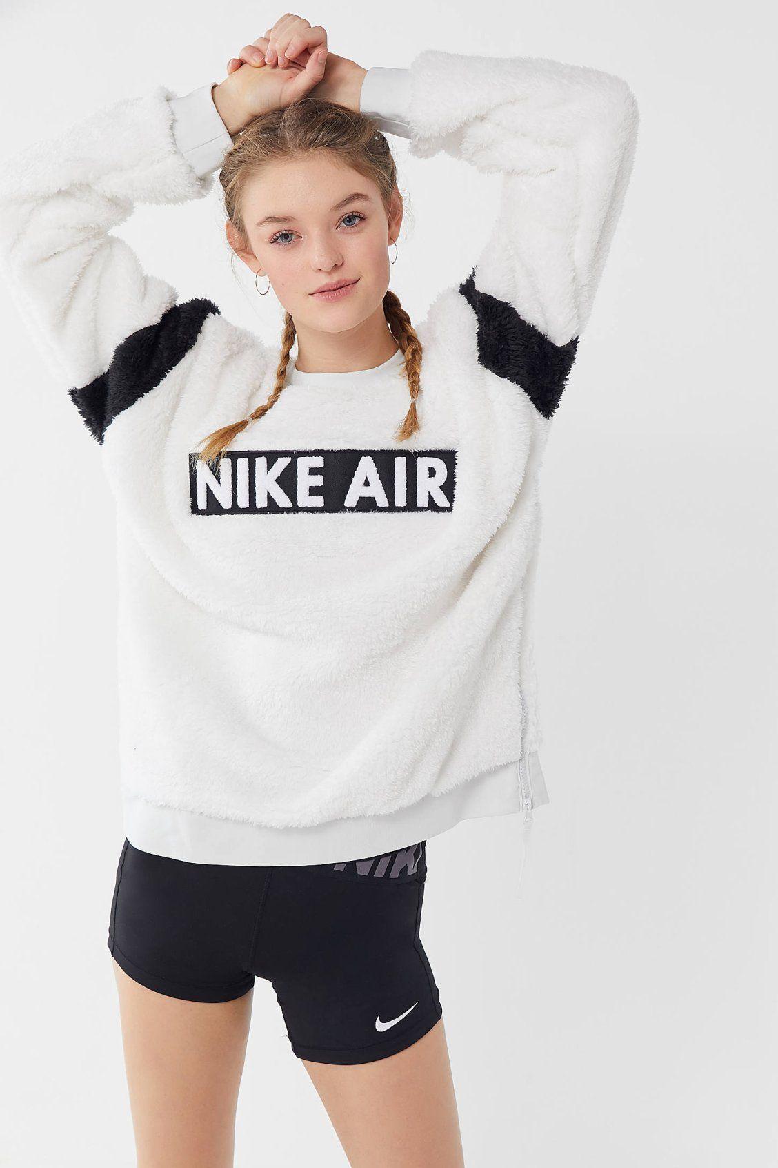 e0b72c69c445d Nike Air Sherpa Crew-Neck Sweatshirt