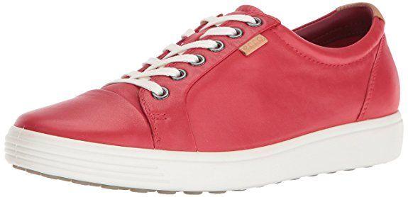 Damen Soft 7 Ladies Sneakers, Rot (1046TOMATO), 36 EU Ecco