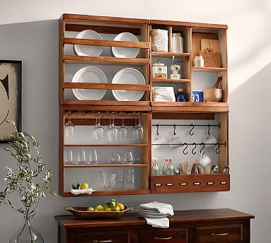 How Fun For Over The Coffee Bar Area In The Dining Room Helps Interesting Shelves Dining Room Inspiration Design