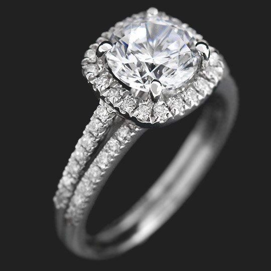 MiaDonna — Luxe Accented Engagement Ring