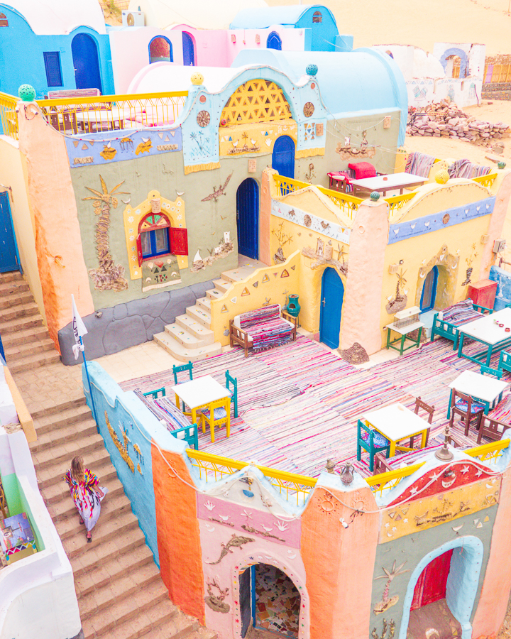 Nubia — Where to Find the Colorful Nubian Village near Aswan Egypt -  The most colorful village in Egypt!! Can you believe this is a real place?? Here's everything you - #aswan #BeautifulCelebrities #colorful #Egypt #Film #Find #Museums #nubia #nubian #village #where