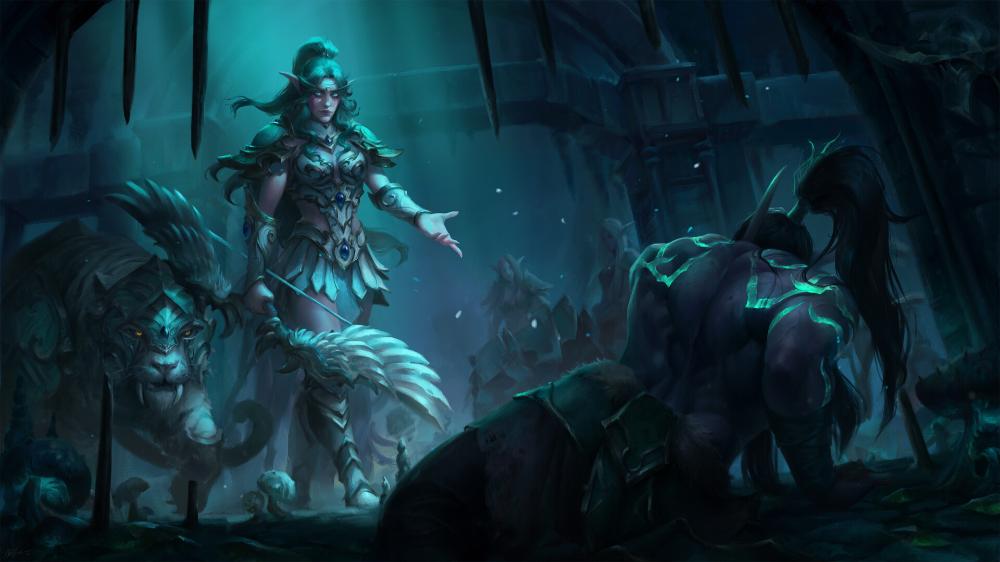 Artstation Warcraft 3 Reforged Key Art Astri Lohne In 2020