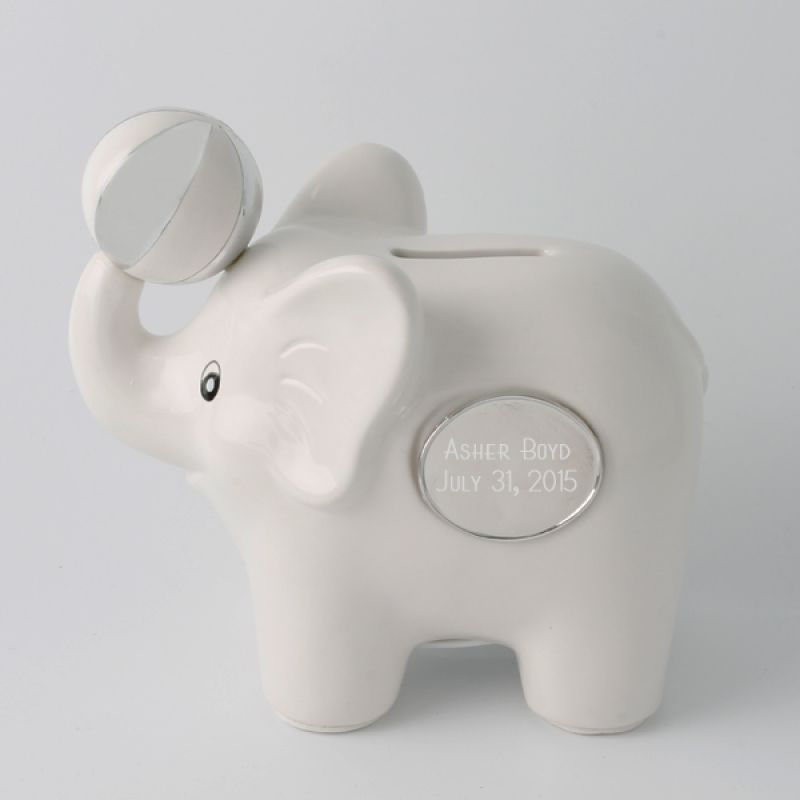 White Elephant Piggy Bank This Playful Is Adorable And Makes The