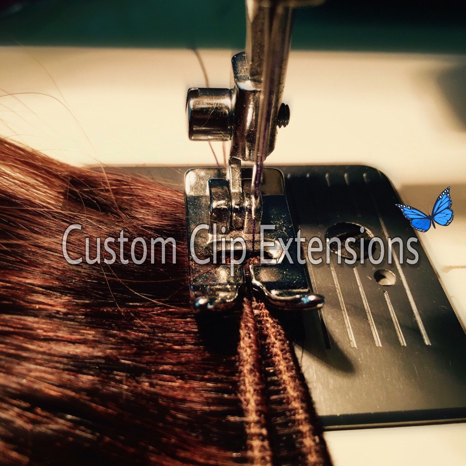 The hair used for these extensions is 100% human hair, high-quality, incredibly. They can be curled, straightened, etc. To use as full sets of extensions or to add volume. If you are interested in CUSTOM colors, please contact me! 💌I'm here to help!🎀🦄