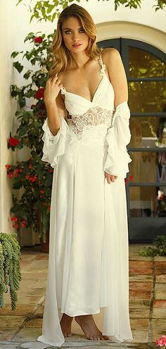 Wedding Nightgown And Robe Google Search