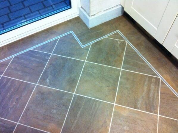 Tramline Border And Fitting Flooring Tile Floor Fittings