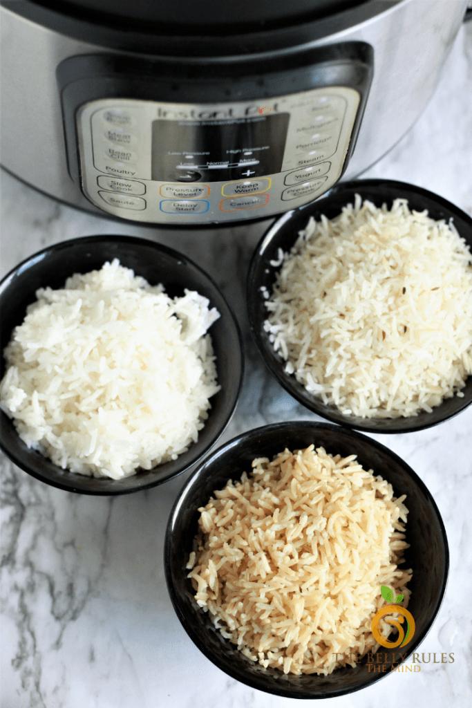 Instant Pot Basmati Rice Video Recipe Bellyrulesthemind Recipe Instant Pot Dinner Recipes Recipes Instant Pot Recipes