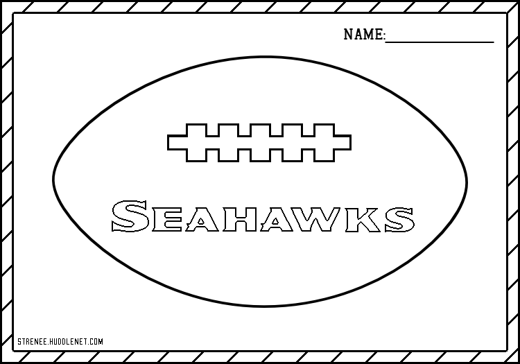 Seattle Seahawks: Free Coloring Pages | Seahawks and Seattle