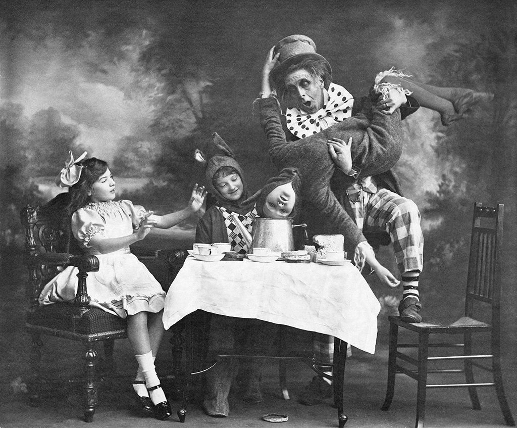 Alice in Wonderland - a picture from the past