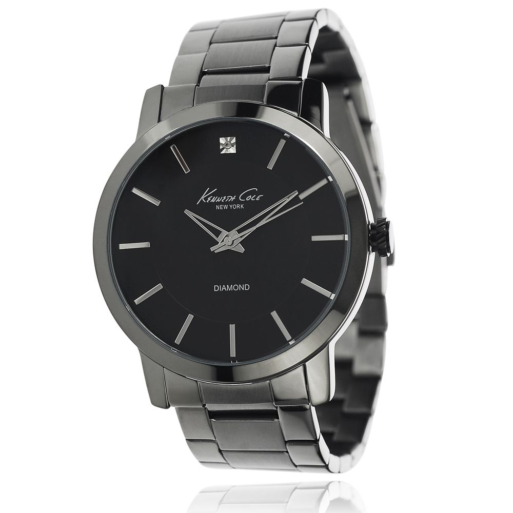 """kenneth cole men s stainless steel link watch by kenneth cole kenneth cole men s stainless steel link watch overstockâ""""¢ shopping big discounts on kenneth"""