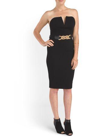 Juniors Bodycon Dress