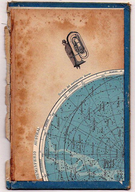 Sentido del movimiento diurno. Federico Hurtado #collage #art #bookcover