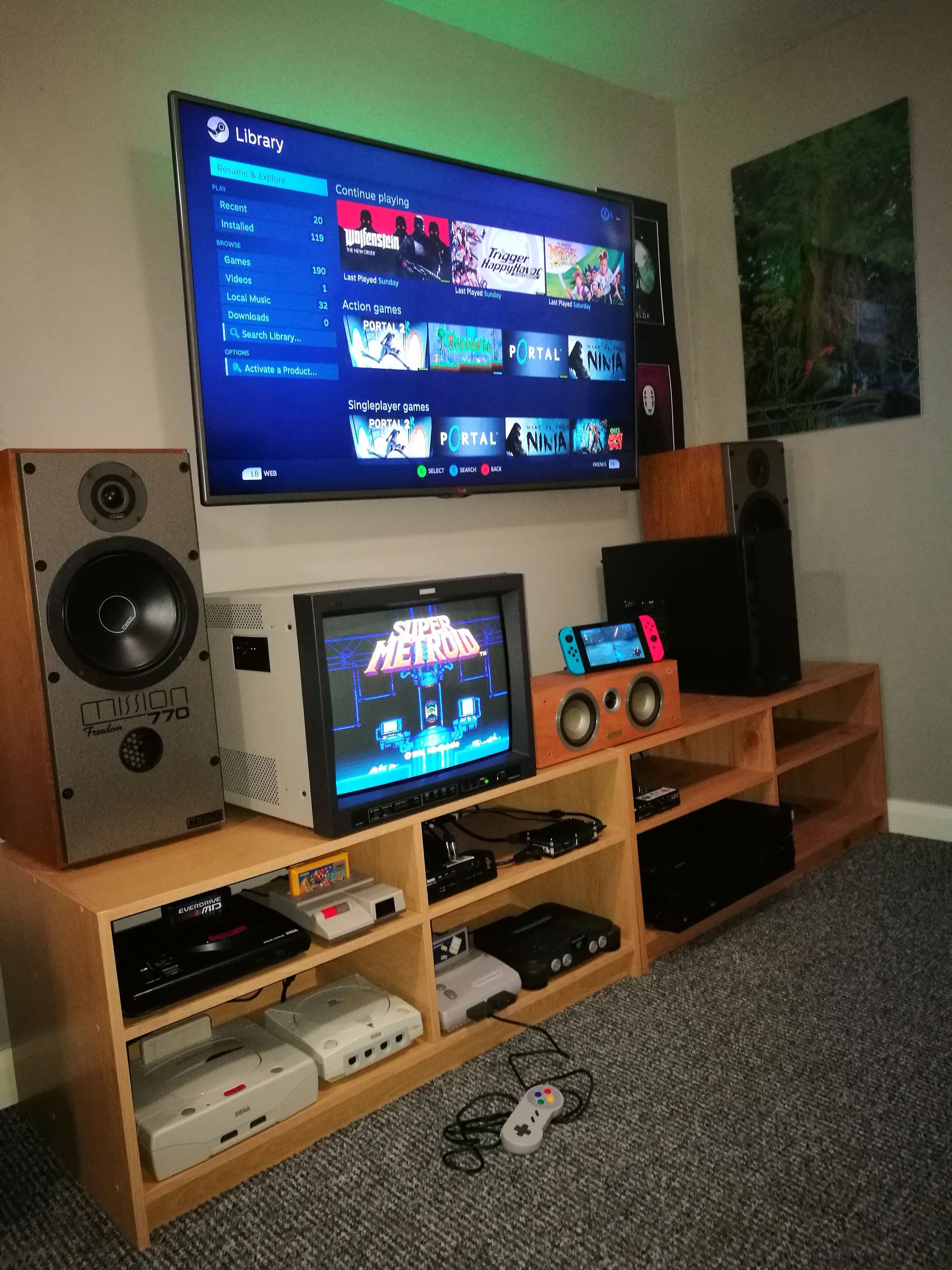 Pin by uwu on Rooms Retro games room, Game room, Video