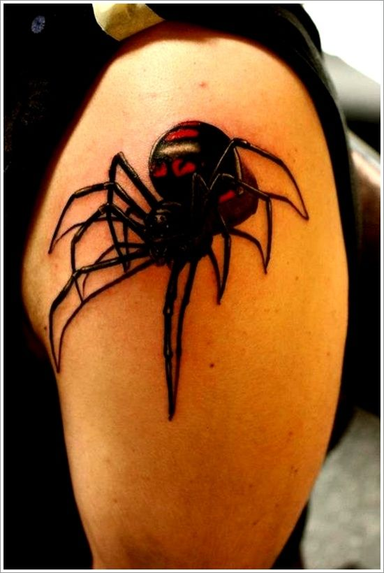 40d42ba29e87f 35 Spider Tattoos that will get you all tangled | Rod II | Spider tattoo,  Tattoo designs, meanings, Tattoo designs