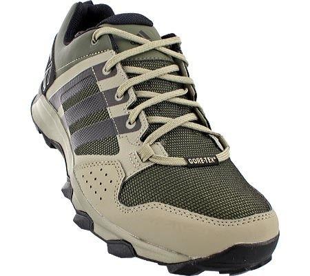 outlet store 198d7 3635f adidas Men s Kanadia 7 Trail Gore-TEX Hiking Shoe Base Green Black Tech  Beige Size 9.5 M