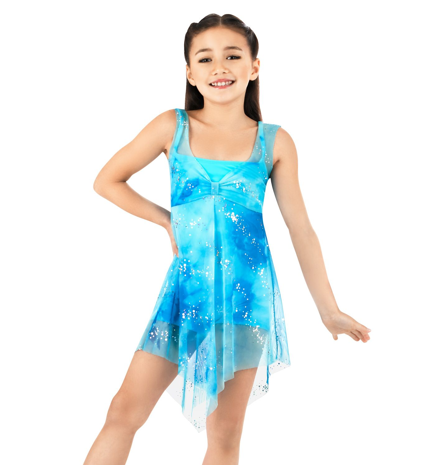 Child Overdress With Unitard - Style Number: N8450Cx