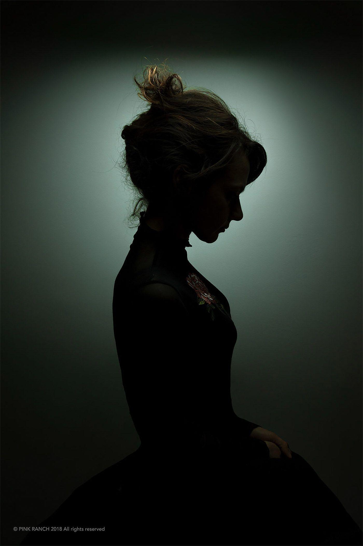 Black Shadow Portraits by Sebastiano Bianco – Inspiration Grid | Design Inspiration