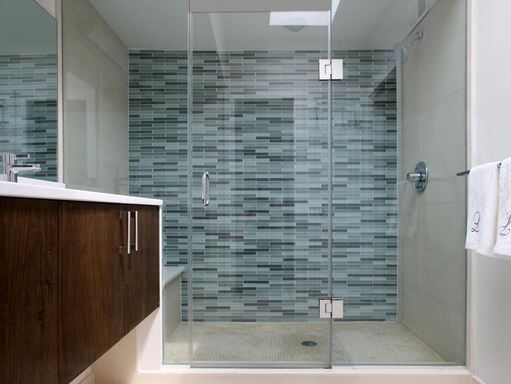Recycled Glass tile.jpg provided by P & P Construction Washington ...