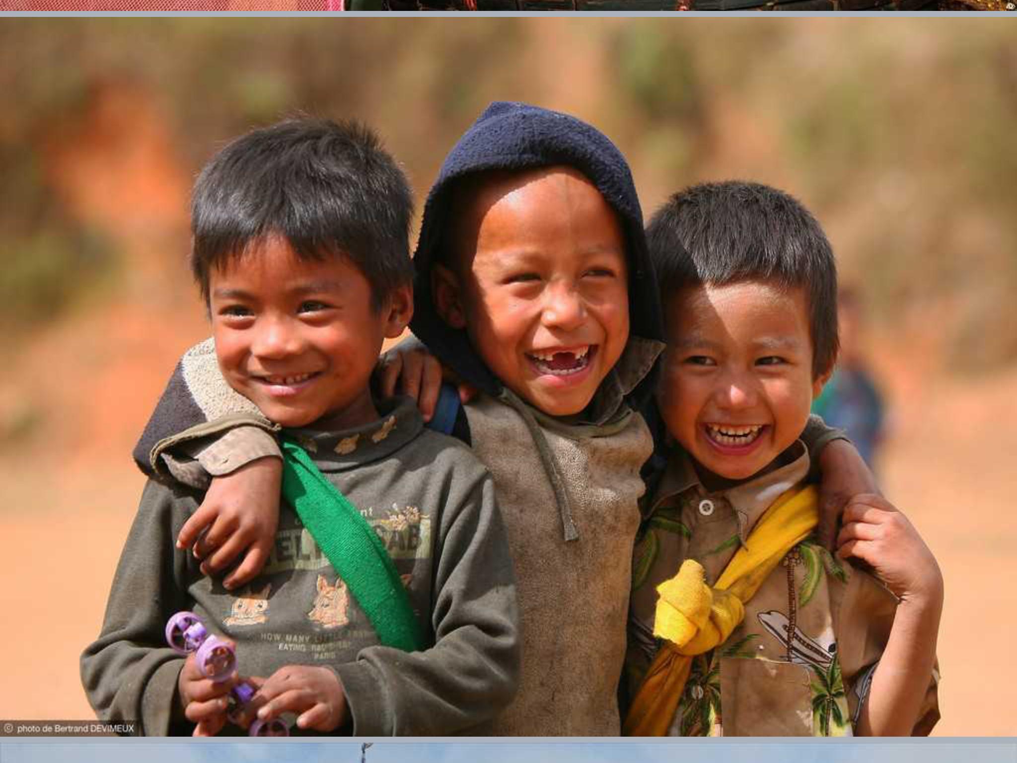 Enfants birmanes