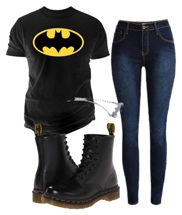 """Untitled #16"" by rachel679 on Polyvore featuring Changes and Dr. Martens"