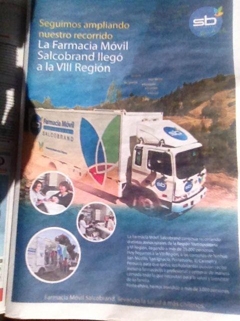 Salco Brand, farmacia móvil